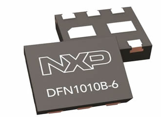 First transistors in 1.1-mm² low-profile DFN package
