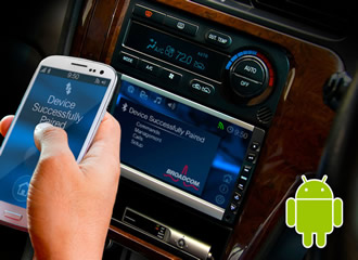 Seamless in-car connectivity with Android devices