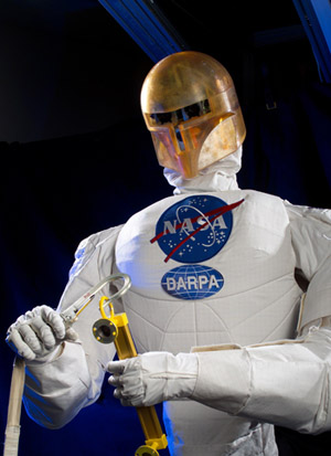 Figure 6 - Peratech's QTC sensor material is used on the hands of NASA's Robonaut, allowing it to get feedback on how tightly it is gripping something, with fingertip sensitivity as good as the human hand