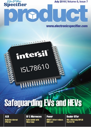 ElectronicSpecifier Product July 2016