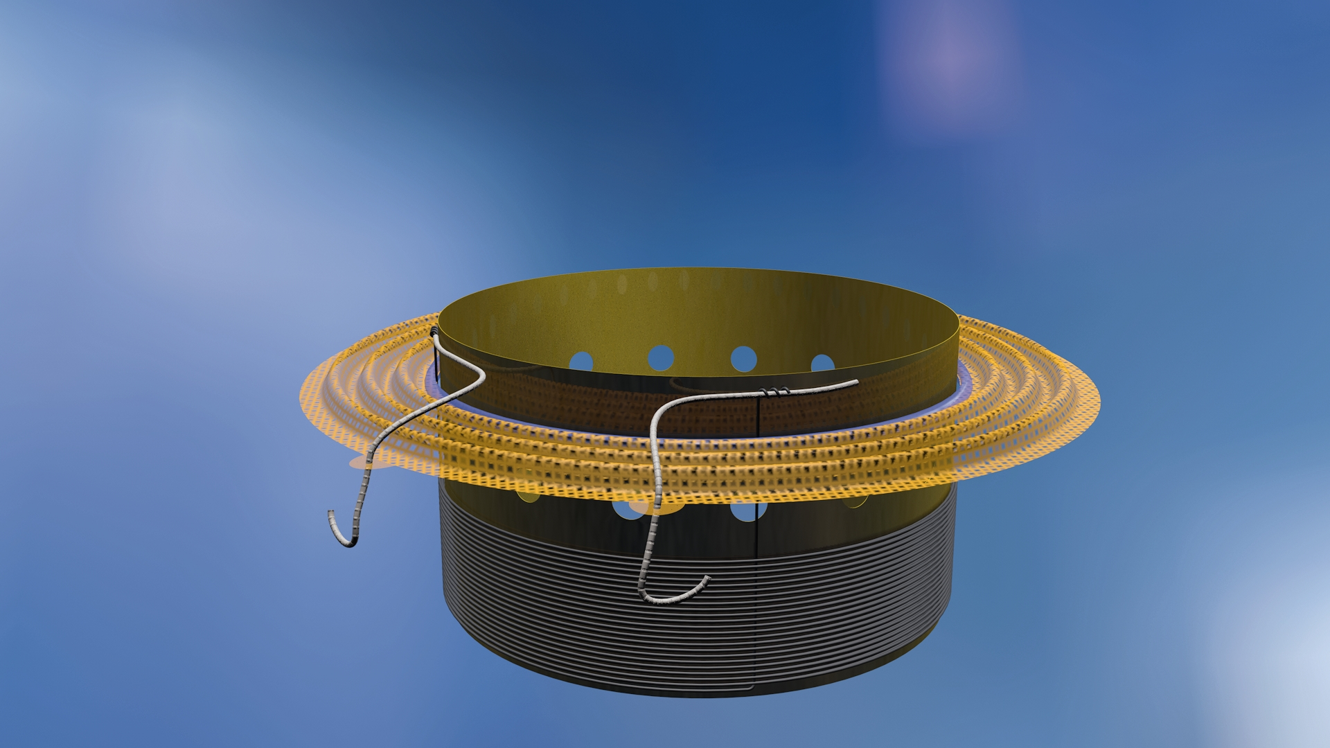 Light-curing allows making short work of spider-to-voice coil bonding
