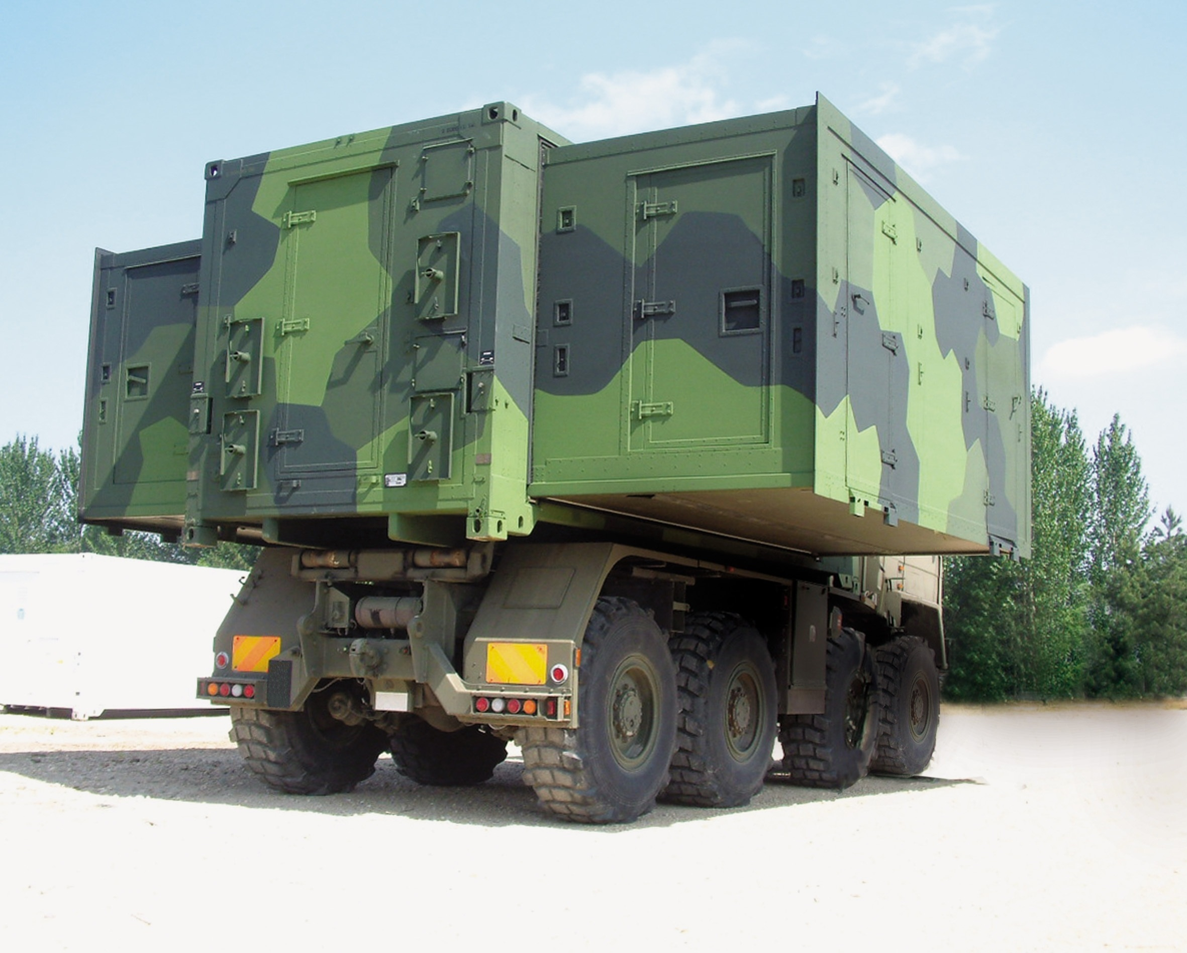 Tactical Shelter Systems : Safeguarding vulnerable electronics in war zones