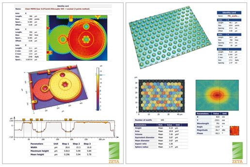 Surface imaging and metrology software for optical profilers