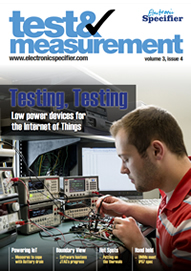 ElectronicSpecifier T&M Issue 3 (EuMW) 2015