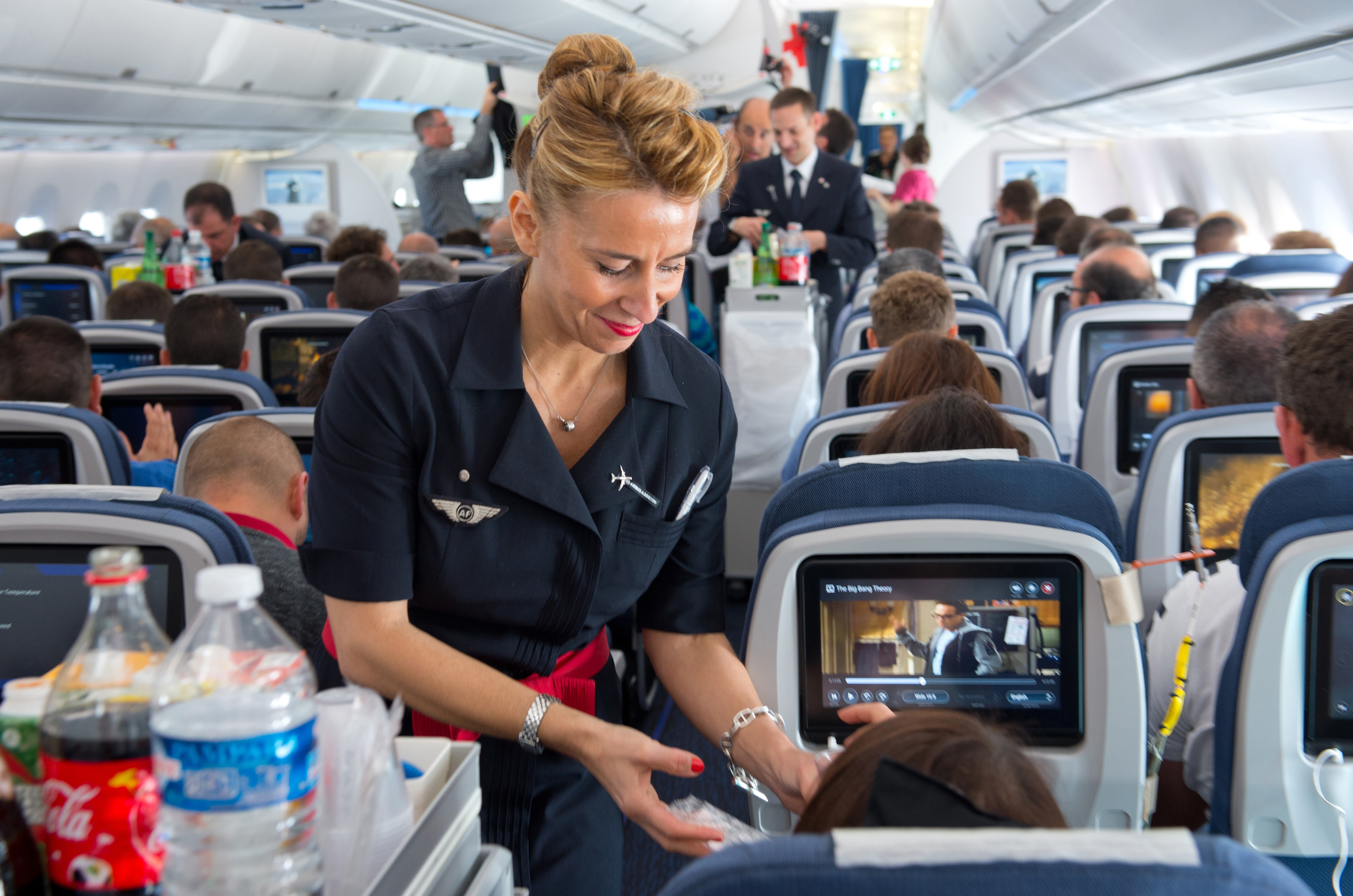 The latest Airbus provides more opportunities for passengers to connect, and that can be a threat