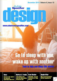 Electronic Specifier Design Magazine December 2016