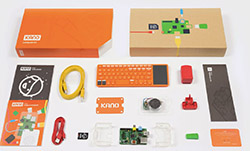 Kano Computer Kit, a simple kit to make a computer and learn to code