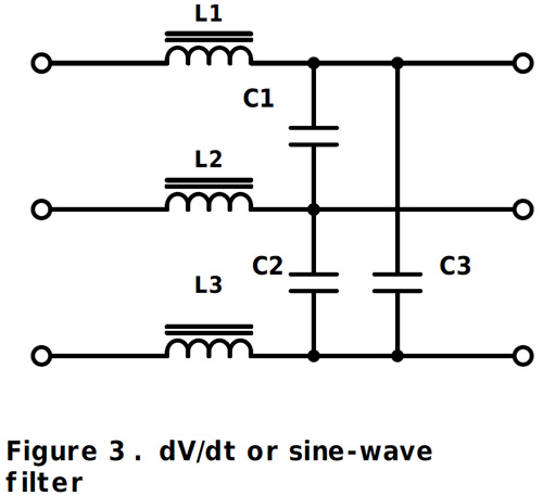 keeping the noise down  converter and inverter output