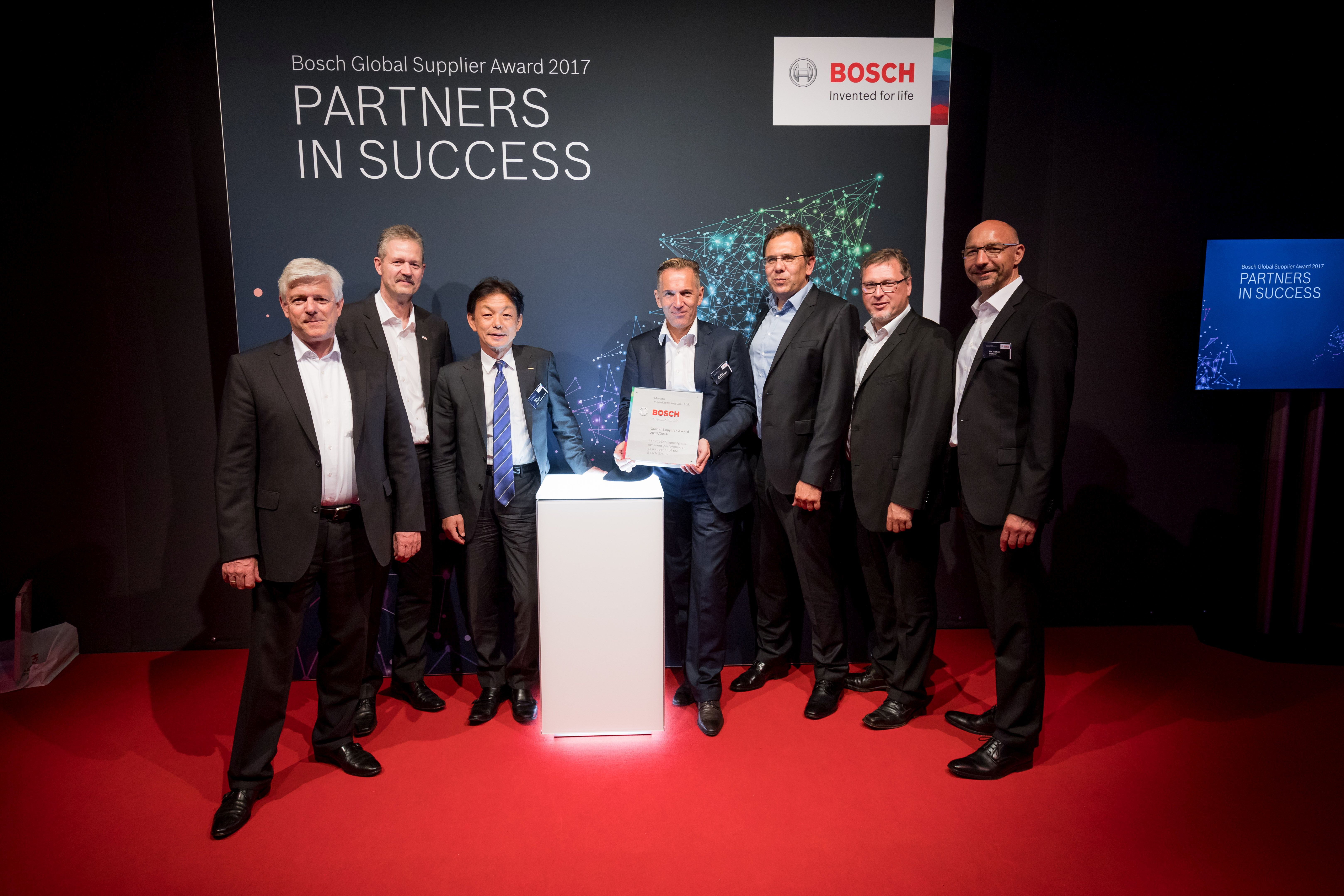 Murata receives two Global Supplier Awards