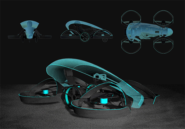 Flying car could open Tokyo 2020 Olympics