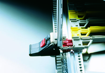Chassis technology aids high speed data processing