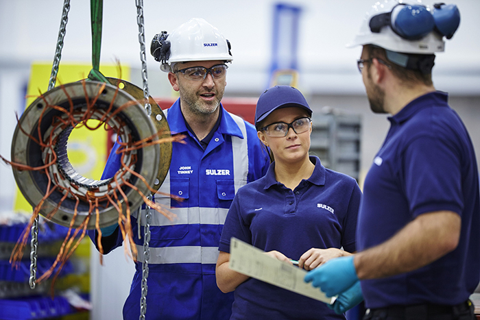 Precision repairs of compressors, pumps and motors improve the long-term reliability of assets