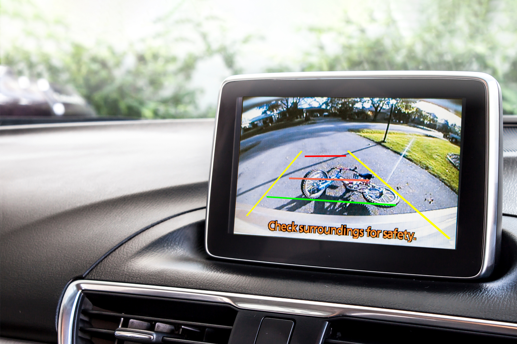 Reversing relies on video for safety updates