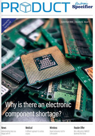 Electronic Specifier Product Magazine September 2018