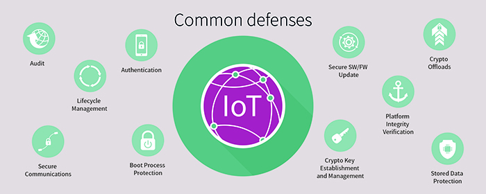 Figure 3. Common cyber security defences
