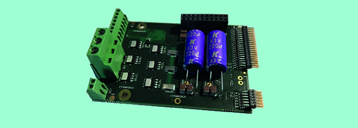 The Low-Voltage Power Board featuring the latest generation U-MOSIX-H TPW3R70APL MOSFETs supporting motors of up to 200W