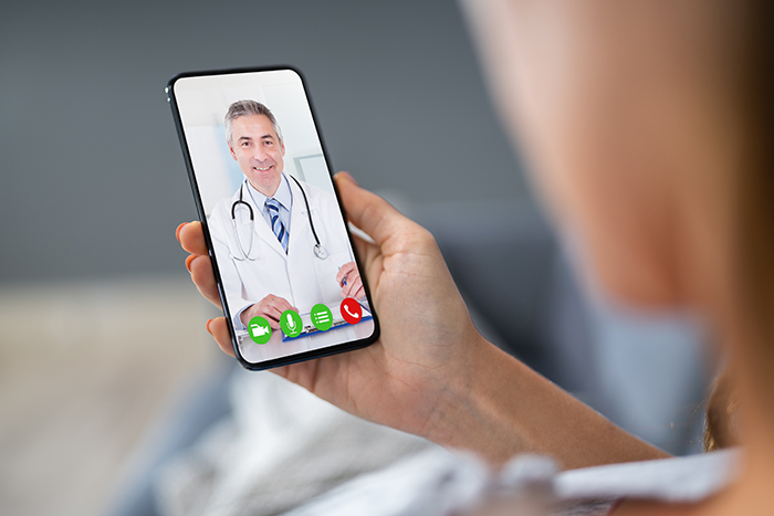 an EY survey showed that 55% of consumers are open to telemedicine consultations replacing in-person