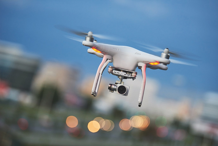 Drones can be adapted to disinfect areas using  ultraviolet light or alternatively to monitor the health of people in public places