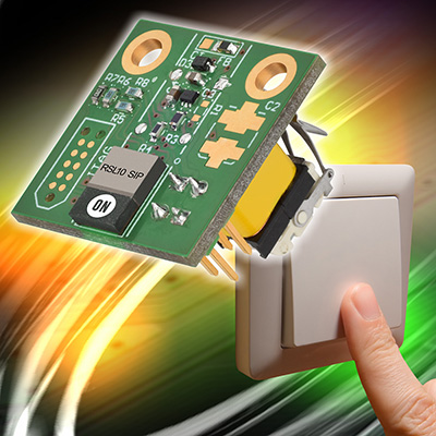 Figure 3: The Energy Harvesting Bluetooth Low Energy Switch from ON Semiconductor
