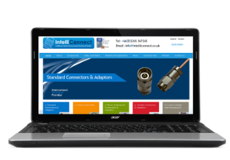 Intelliconnect website showcases range of RF connectors