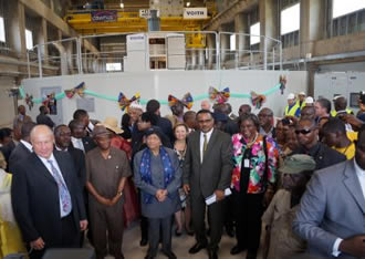 Mount Coffee hydropower plant begins operation in Liberia