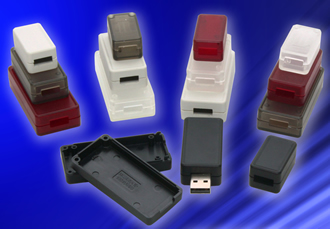 Miniature enclosures optimised for USB interconnect