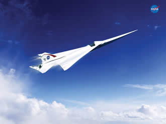 NASA to build a quieter supersonic passenger jet