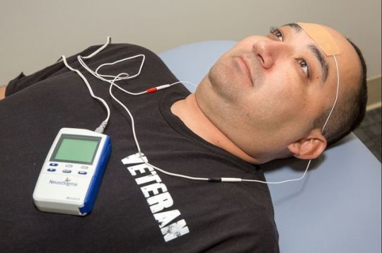Electric patch promises treatment for PTSD