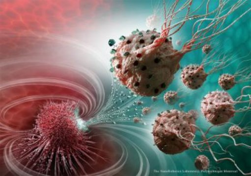 Nanorobots target cancerous tumors with precision