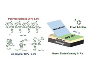 Food additive key to plastic solar cells
