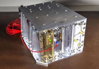NavCube supports X-ray communications demonstration in space