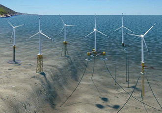Offshore turbine design maximises cost reduction