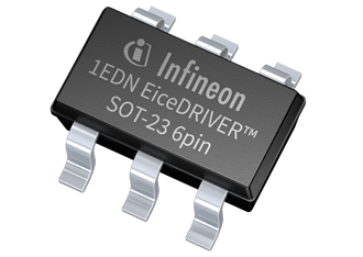 Gate driver IC 1EDN offers low power consumption