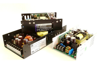 Fanless power supplies have wide DC input capability