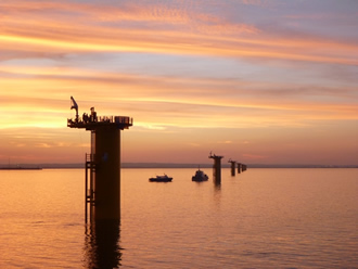 Due diligence of offshore wind farm completed