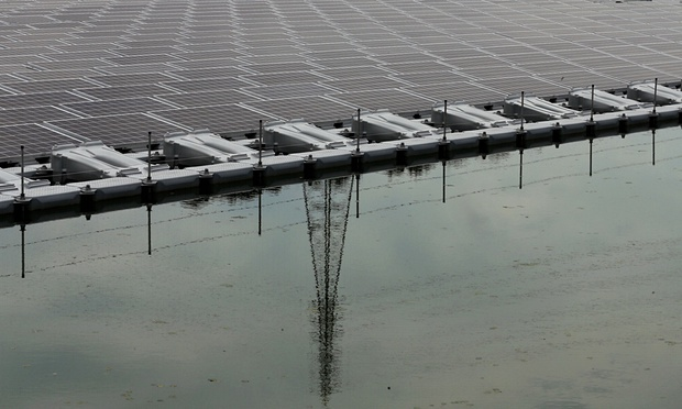 World's largest floating solar farm to be built in Japan