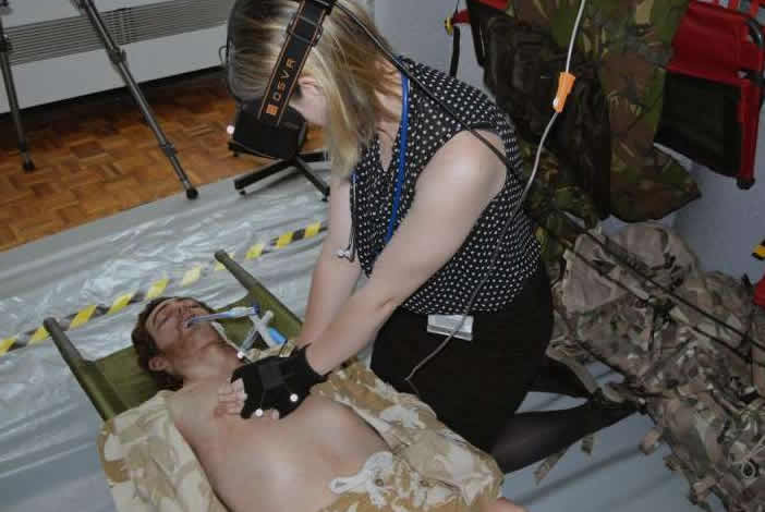 VR 'Chinook' will help train medics in UK Armed Forces