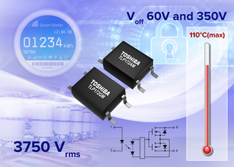 Compact photorelays suit high performance switching