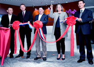 Ampleon opens RF Energy Competence Center in Hefei