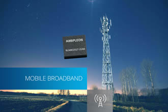 Doherty amplifier for 4.5 G / LTE Advanced Pro applications