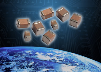AVX's space-level BME X7R MLCCs are now NASA approved