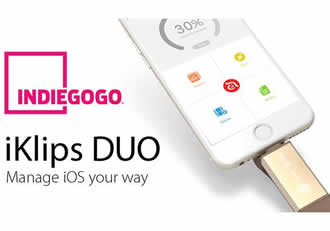 Adam Elements launches iKlips DUO Campaign on Indiegogo