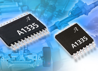 Position sensor IC features 360° contactless programmable angle