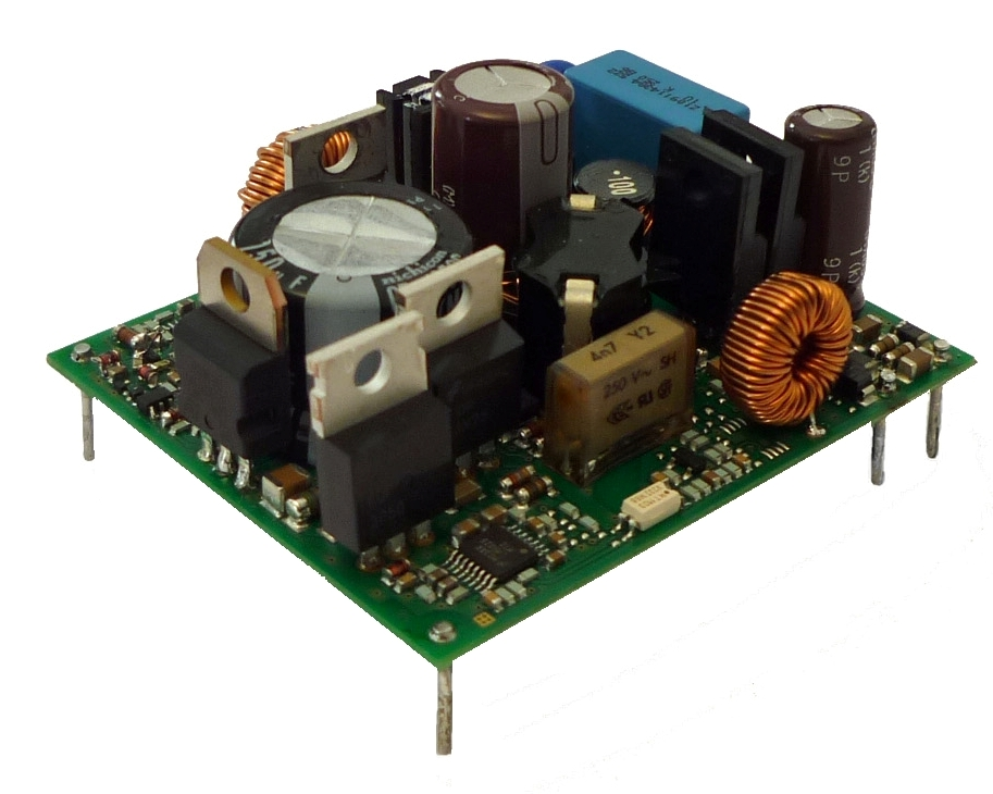 PCB-mounting DC/DC converter meets railway conditions