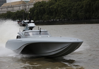 Agreement signed for unmanned surface vehicle software