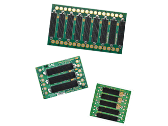 First VPX backplane to support radial clock slot card released