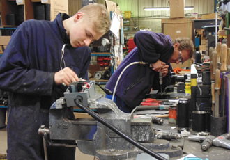 Closing the manufacturing skills gap with apprenticeship levy