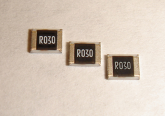 Current sense resistors available in tolerances down to 1%