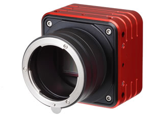 Monochrome 25MP CMOS camera delivers 72fps