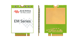 Embedded module supports LTE-A network connectivity